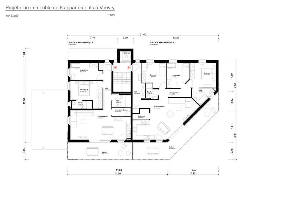 4-Zimmer Wohnung zum/zur Verkaufen in Vouvry in Vouvry - Photo 12