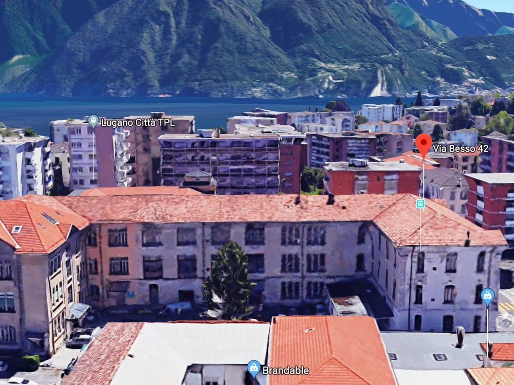 Divided into rooms/areas To rent at via Besso 42 in Lugano - 13 Photos