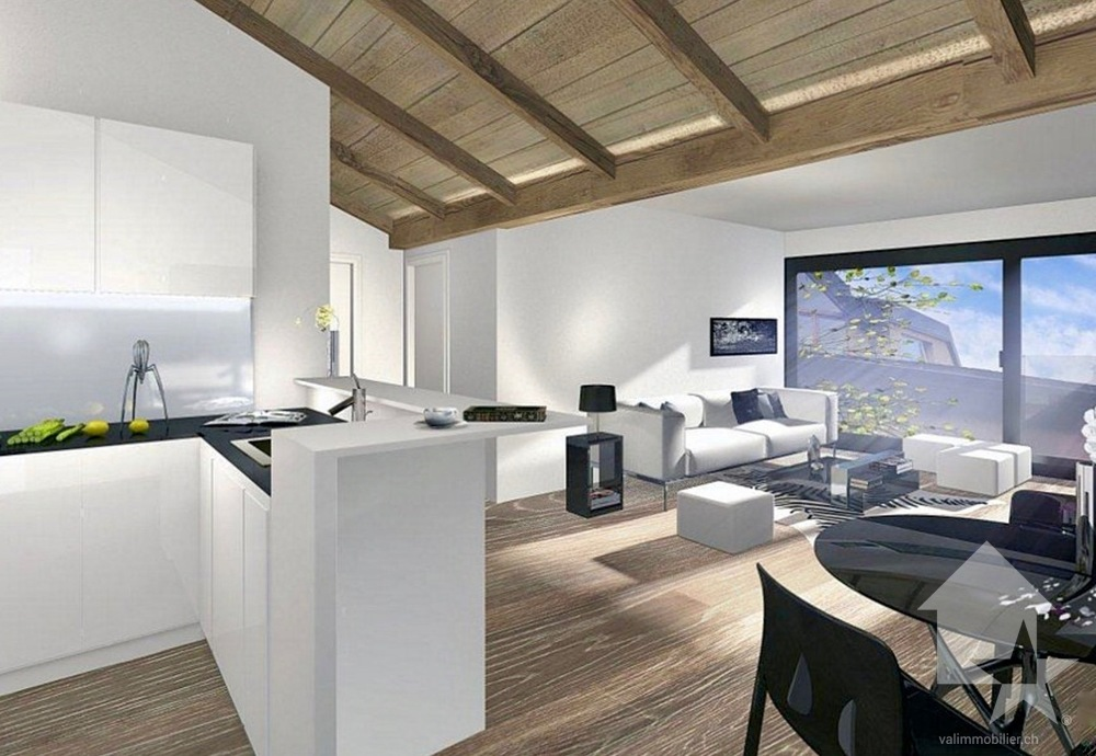 Appartamento 2 locali in Vendita in Martigny a Autigny - Foto 3