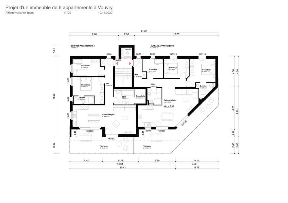 4-Zimmer Wohnung zum/zur Verkaufen in Vouvry in Vouvry - Photo 3