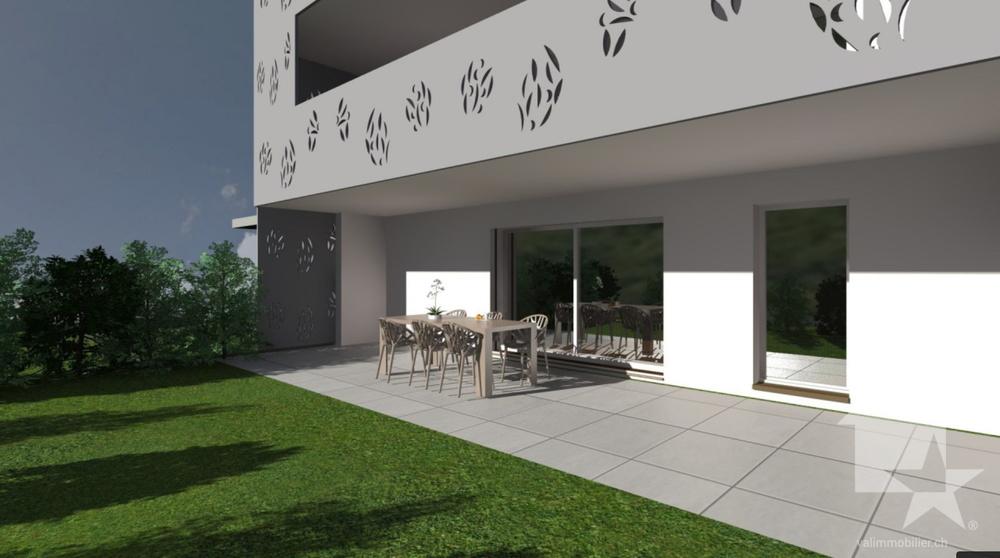 4-Zimmer Wohnung zum/zur Verkaufen in Vouvry in Vouvry