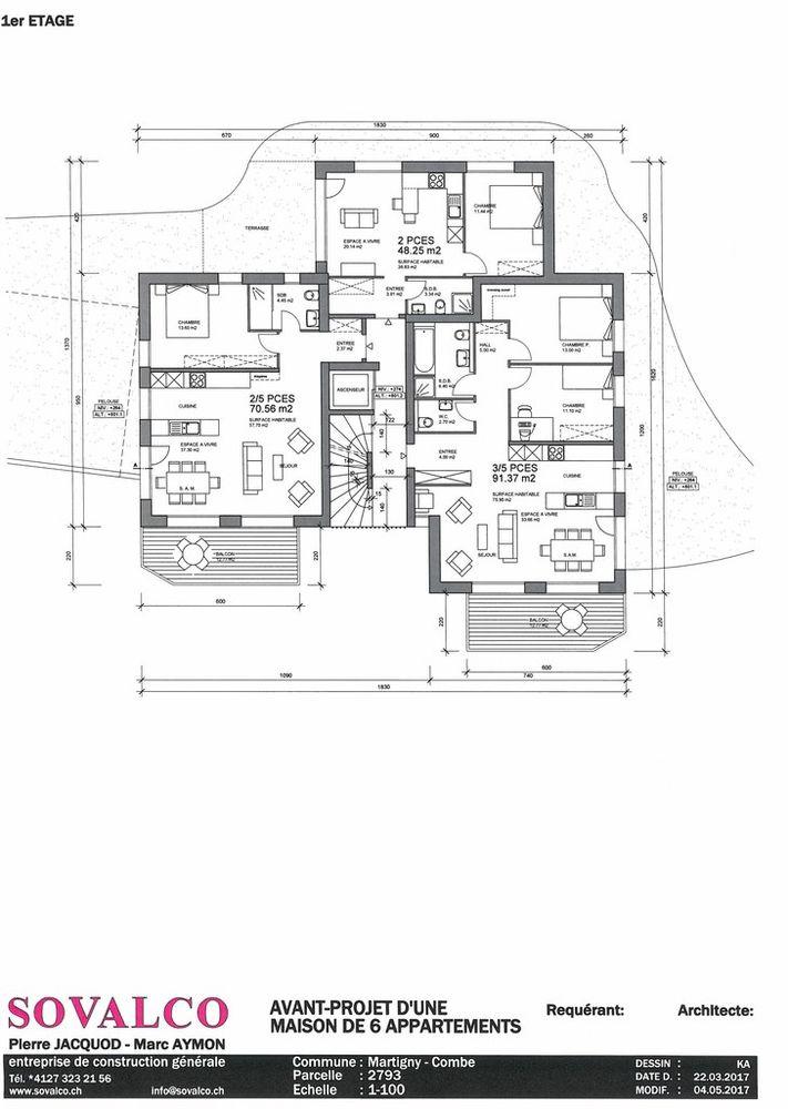 2 Room Apartment For Sale at rue de la fontaine (Martigny-Combe) in Autigny - 4 Photos