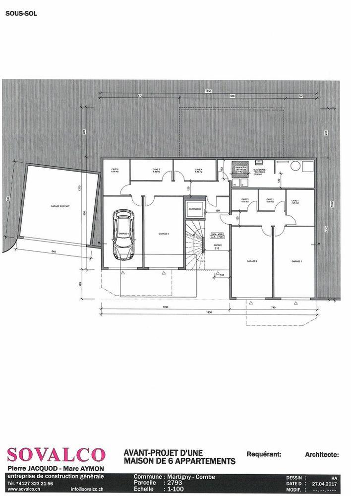 2 Room Apartment For Sale at rue de la fontaine (Martigny-Combe) in Autigny - 3 Photos