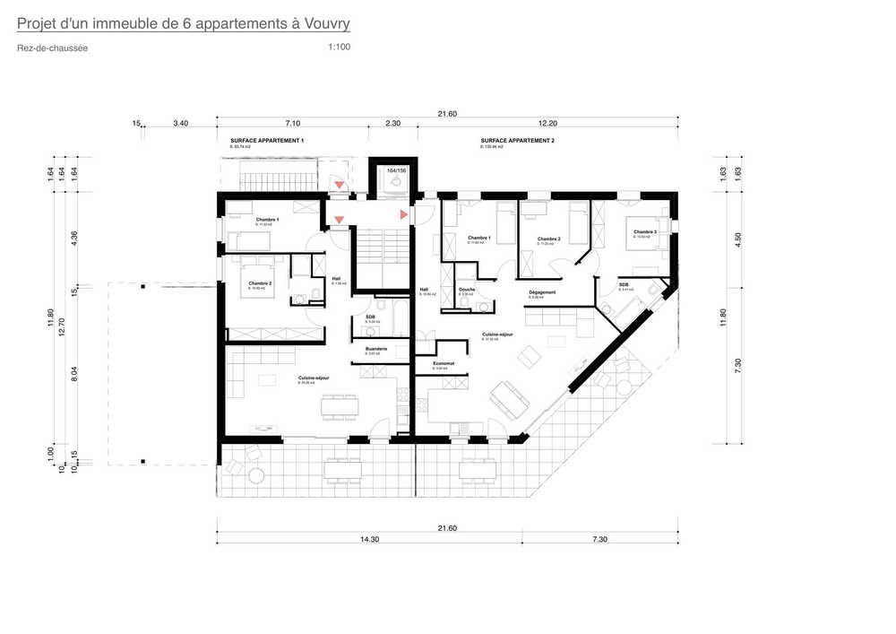 4-Zimmer Wohnung zum/zur Verkaufen in Vouvry in Vouvry - Photo 11