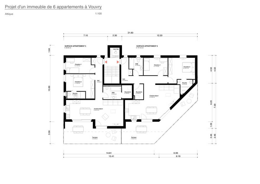 4-Zimmer Wohnung zum/zur Verkaufen in Vouvry in Vouvry - Photo 2