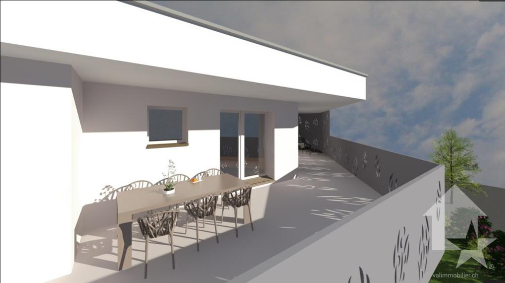 4-Zimmer Wohnung zum/zur Verkaufen in Vouvry in Vouvry - Photo 9